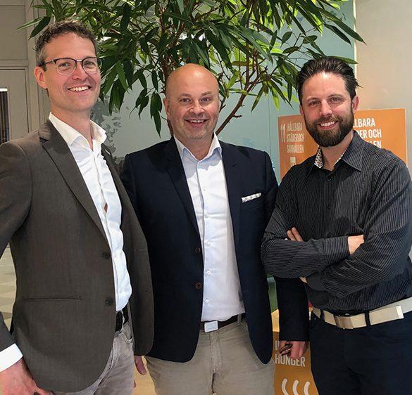 Peter Nordström, Swelife, Erik Forsberg, EIT Health Scandinavia, Jonas Sarled, Medtech4Health