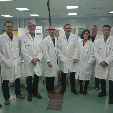 Bilden är tagen på Testa Center vid ett Injection-möte där januari 2020.