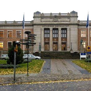 Göteborgs universitet, Vasaparken Foto GU