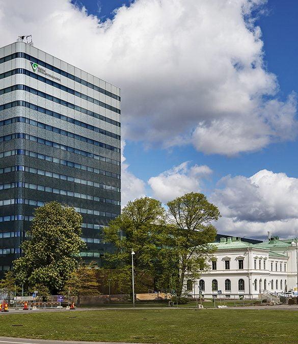 Västra Götalandsregionens Regionens Hus i Göteborg. Foto Paul Björkman
